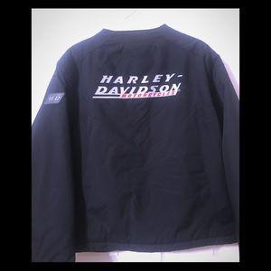 Harley Davidson Black Insulated Zipper Jacket